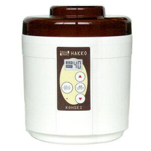 【送料無料】らくらく発酵(温度調節機能付きヨーグルトメーカー)【簡単ヨーグルトメーカー】