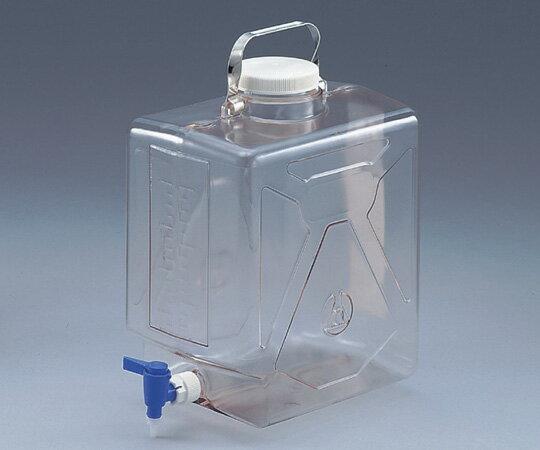 ★ポイント最大7倍★【全国配送可】-ナルゲン透明活栓付角型瓶2322 20L NALGENE 型番2322-0050  JAN4589488355254 aso5-058-02 -【研究用機器】