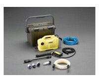 【全国配送可】-EA115KM-100Aエスコ(esco)高圧洗浄機(吸水ホース・ケース付)JAN4548745248067asn61-8932-82-【工場・工事用品・】