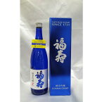 福寿 純米吟醸 720mlノーベル賞晩餐会で愛飲される日本酒(化粧箱入) ブルーボトル