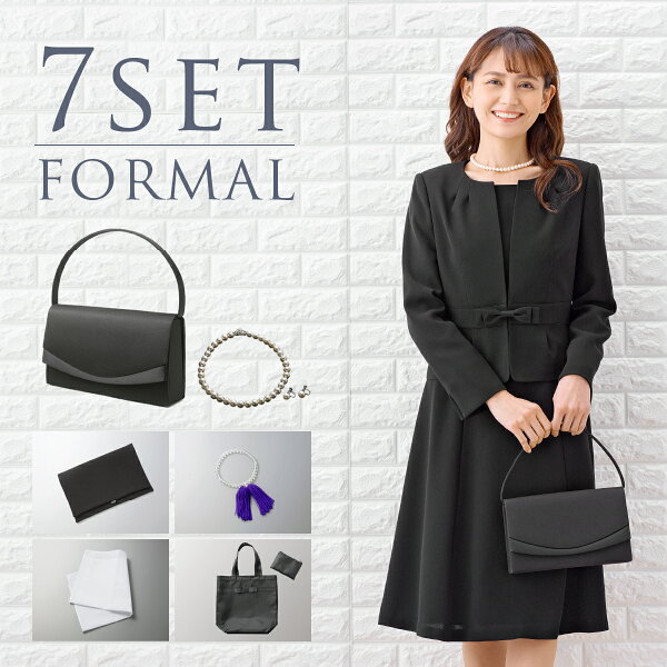 FashionCoupon5%off発行中 プチサイズ小柄サイズあす楽 フォーマルセット ブラックフォーマル・喪服・礼服  レ