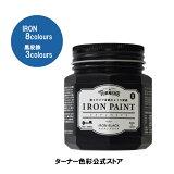 アイアンペイント【200ml】 DIY用塗料 ターナー色彩 塗るだけで金属のような質感に