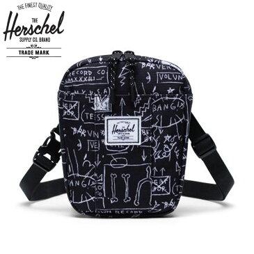 [正規品 無料ギフトラッピング可] Herschel Supply ハーシェルサプライ / サコッシュポ?チ ショルダーバッグ / BASQUIAT バスキア / CRUZ - BASQUIAT BEAT BOP / 10510-03255 / サコッシュバッグ ポシェット ブラック 黒 メンズ レディース ユニセックス 鞄 人気【t79】