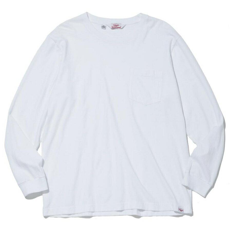 トップス, Tシャツ・カットソー BATTENWEAR() T LS POCKET TEE - WHITE 85011 t96