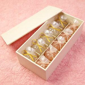 【全国送料無料】恋桜(こいざくら)5個・葛まんじゅう(柚子)5個木箱入