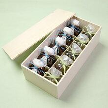 【全国送料無料】涼菓せせらぎ5個・塩水羊羹5個木箱入