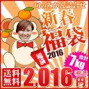 【福7】【ご家庭用】2016年新春福袋 7kg                        【2016年1月下旬から順次発送】【送料無料】※家庭用大小サイズ込み、見た目に葉傷等ございます。