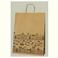 [業務用]紙袋手提げ 25チャームバック 2才ニュータウンB(普通サイズ)50枚ギフトにプレゼントにお菓子のラッピングに。プレゼントのラッピングにおしゃれでかわいい紙製の袋 激安の包装用品(袋/手提げ袋/手提げバック/手さげバック/手さげ袋/紙袋/手提げ無地)