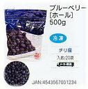 [送料無料/業務用]冷凍フルーツ ブルーベリー[チリ産]ホール 500g×20個入りかき氷のトッピングやフルーツ(果物)のデコレーション、スウィーツに便利なフルーツ(冷凍食品)。【smtb-F】