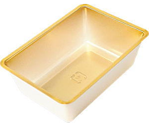 個食容器 金 92×65×30H