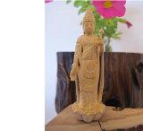 〜木彫り 仏像 観音菩薩〜仕様:無垢 / 素材:柘植