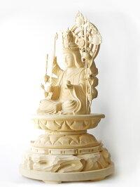 〜木彫り仏像八臂弁才天〜仕様:無垢/素材:桧