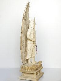 〜木彫り仏像不動明王〜一刀彫/素材:楠