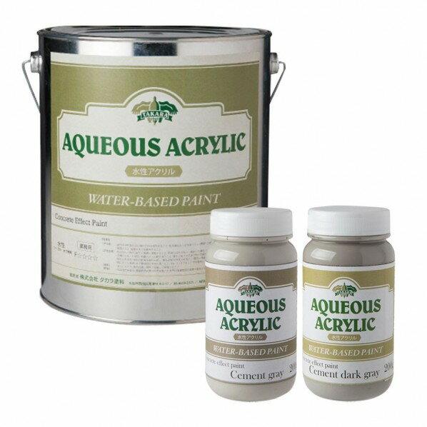 タカラ塗料 コンクリートエフェクトペイント打ちっぱなしコンクリート風な表現が出来る塗料 4kg+200g+200gセット CEP_C_-_4kg+200g2 1セット