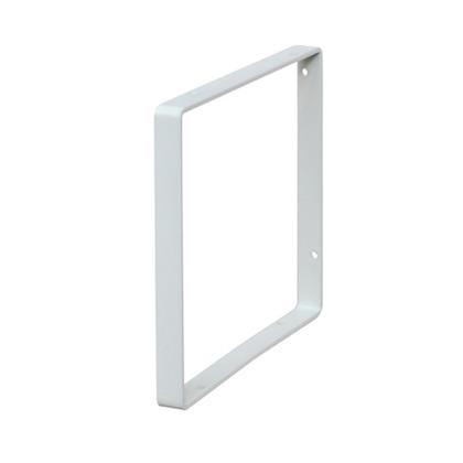 LABRICO スクエアフレーム6 白 幅1.5cm×奥行16cm×高さ16cm WFW-16 1個
