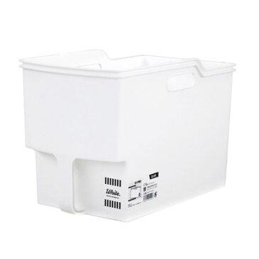 不動技研 吊り戸棚ボックス スリム ホワイト(W) サイズ:幅18.5×奥行33.4×高さ22cm F40105