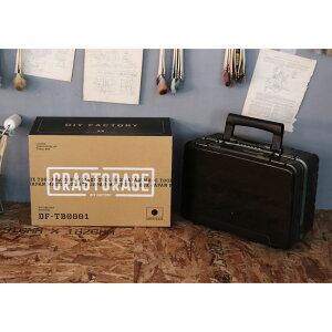 DIY FACTORY × メイホウ ( MEIHO) CRASTORAGE クラストレージ VS-3078 メタリックグリーン DF-TB0001 明邦化学工業 バーサス VERSUS タックルボックス タックルケース
