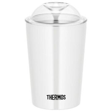 サーモス 保冷ストローカップ ホワイト(WH) 幅8×奥行8×高さ13.5cm JDJ-300 1個
