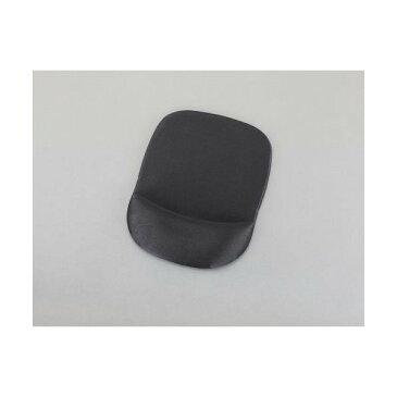 エスコ(esco) 180x245x22.0mm [リストレスト付]マウスパッド(ブラック) EA764-151 1個