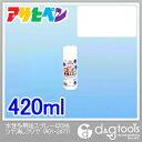 簡単スプレー塗料アサヒペン 水性多用途スプレー 420ml ツヤ消しクリヤ 白