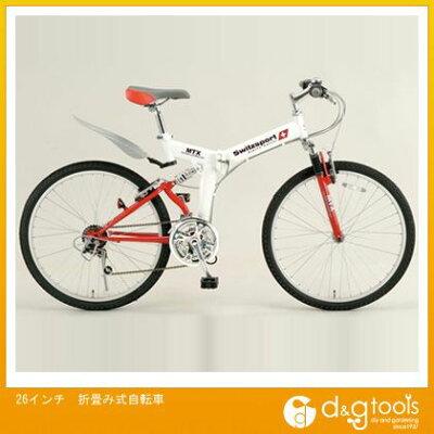 エスコ 26インチ折畳み式自転車 (EA986Y-31A)