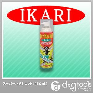 蜂退治に!【イカリ消毒】 スーパーハチジェットスプレー(殺虫剤) 480ml