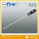 KTC KTC樹脂柄ドライバロング軸マイナス貫通タイプ5mm D1M2-530 1点 1