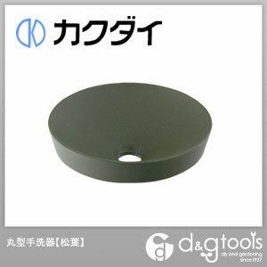 カクダイ 丸型手洗器 松葉 493-012-YG