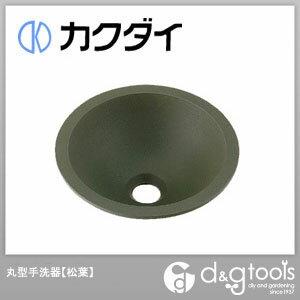 カクダイ 丸型手洗器 松葉 493-013-YG