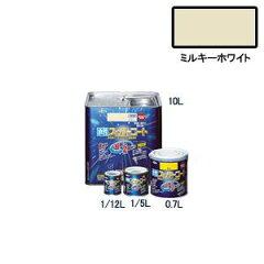 【在庫品】アサヒペン 水性スーパーコート ミルキーホワイト 0.7L 塗料 ペンキ 水性 水性塗料 ...
