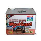 アサヒペン 油性ウッドガード外部用 ウォルナット11 7L 屋外 防虫 木部