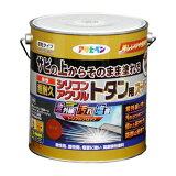 アサヒペン 油性超耐久シリコンアクリルトタン用 スカイブルー 3kg