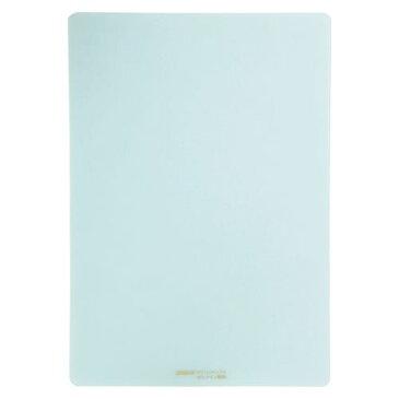 共栄プラスチック 硬筆用ソフト透明下敷(A4判) 薄グリーン (NO.1304)  文具・OA機器 文具・事務用品