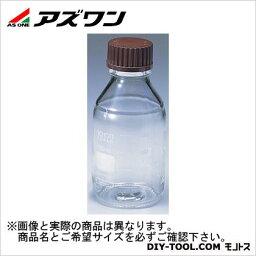アズワン ねじ口瓶丸型白 100ml 2-076-02 1本