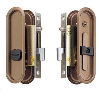 BEST 252T引手付鎌錠表示錠 古代ブロンズ バックセット:30mmドア厚:28~36mm (252T-3)