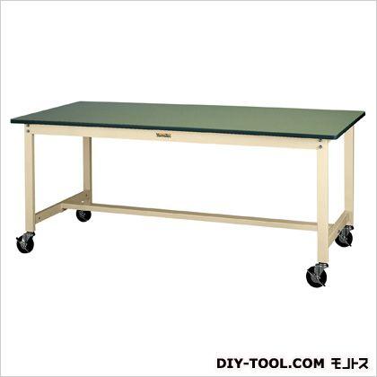 1200x600x900mmワークテーブル(キャスター付) 1200(W)×600(D)×900(H)mm (EA956TT-25)