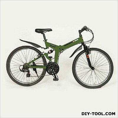 26インチ折畳み式自転車 (EA986Y-34)