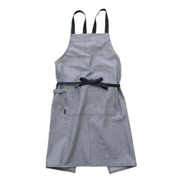 ゲンダイヒャッカ ロングエプロン HICKORY 丈80cm(レディースフリーサイズ) 261507