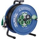 ハタヤ/HATAYA 防雨型コードリール(電工ドラム)サンデーレンボーリール アース付 30M (SG-30K)