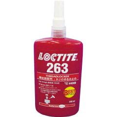 ヘンケル ロックタイト ねじゆるみ止め用嫌気性接着剤 10ml (263) 特殊接着剤 接着剤