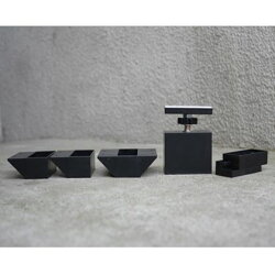 LABRICO(ラブリコ)2×4材専用アジャスターマットブラック(限定色)(DXK-1)