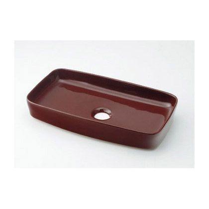 MINO(ミーノ) 角型手洗器 ショコラ(茶) (493-073-BR)