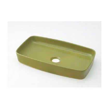 MINO(ミーノ) 角型手洗器 ピスタチオ(緑) (493-073-GR)