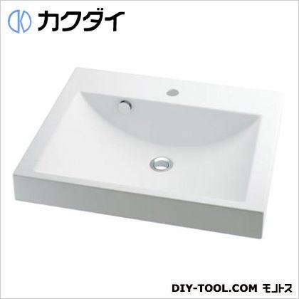 カクダイ 角型洗面器 10L 493-072