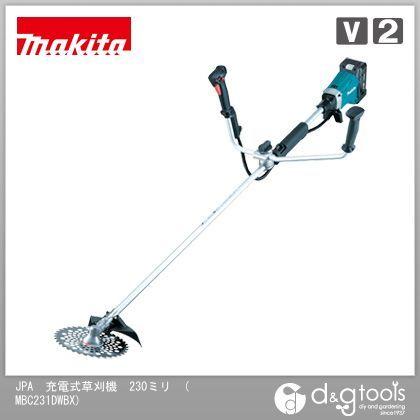 マキタ JPA 充電式草刈機 (バッテリー&充電器付き)  230ミリ MBC231DWBX:DIY FACTORY ONLINE SHOP