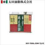 太田油脂 マルタ一番しぼり純正荏油/艶出し塗油 500g