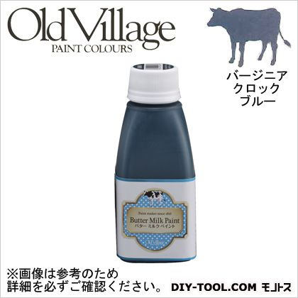 Old Village Paint バターミルクペイント バージニア クロック ブルー 150ml BM-1018M 自然塗料 クラフト 水性塗料