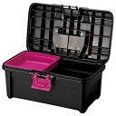 リングスター 工具箱 エコット ブラック RE-380 プラスチック製 ツールボックス 収納