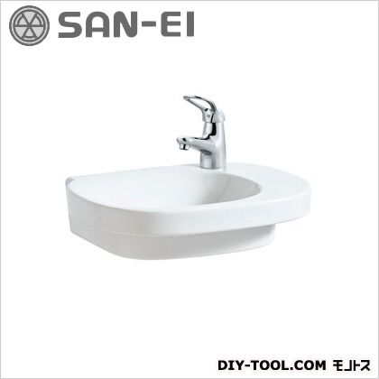 三栄水栓 洗面器 ホワイト 3.2L SL810556-W-104