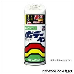 ソフト99 ボデーペン(メタリック・マイカ) 純正カラーNo.070 ホワイトパールクリスタルシャイン...